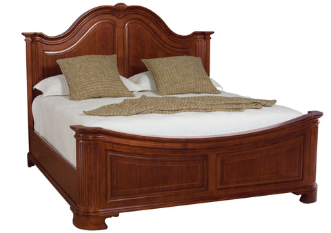 Cherry Grove King Mansion Bed by American Drew