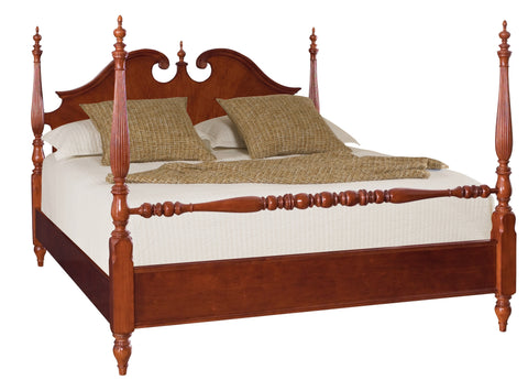 Cherry Grove Cal-King Low Poster Bed by American Drew