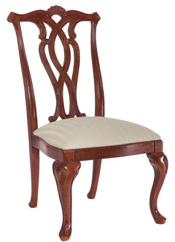 Cherry Grove Pierced Back Side Chair (Set of 2) by American Drew