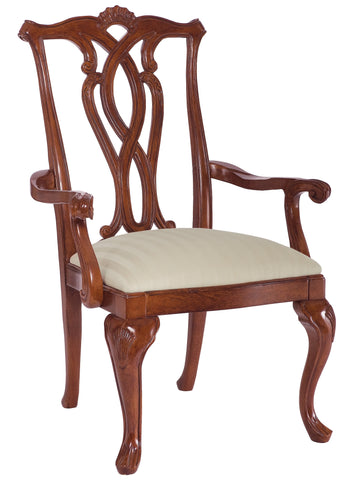 Cherry Grove Pierced Back Arm Chair (Set of 2) by American Drew