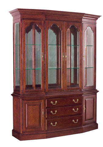 Cherry Grove Canted China Cabinet by American Drew