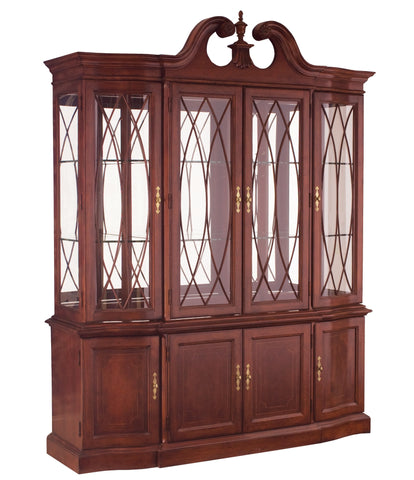 Cherry Grove Breakfront China Cabinet by American Drew