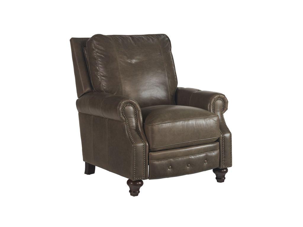 Harrison Recliner in Dolphin Leather by Universal Furniture