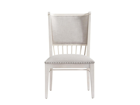 Bungalow Upholstered Back Windsor Chair (Set of 2) by Paula Deen Home