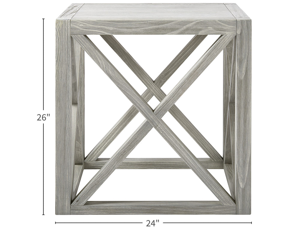 ESCAPE-COASTAL LIVING HOME COLLECTION BOARDWALK END TABLE 833A802