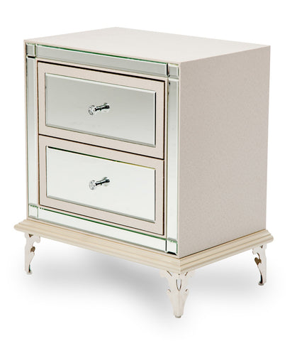 Hollywood Loft Nightstand - Frost Finish