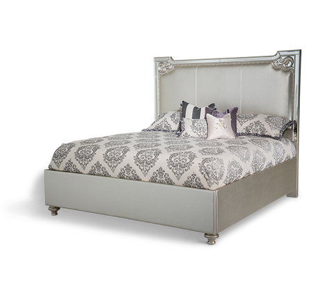 Bel Air Park Cal King Upholstered Bed by Aico