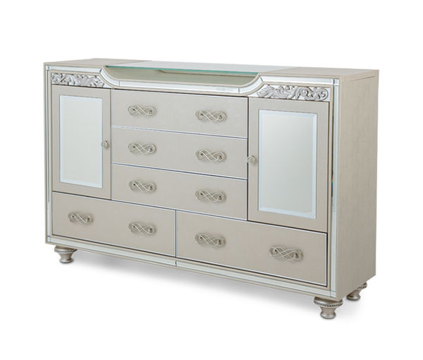 Bel Air Park Upholstered Dresser by Aico