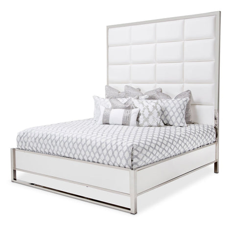 STATE ST. Metal Panel Bed (3 Pc)