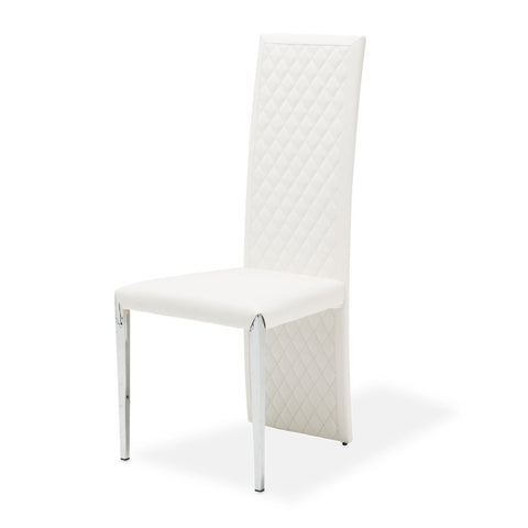 STATE ST. Short Side Chair (Vinyl Back)