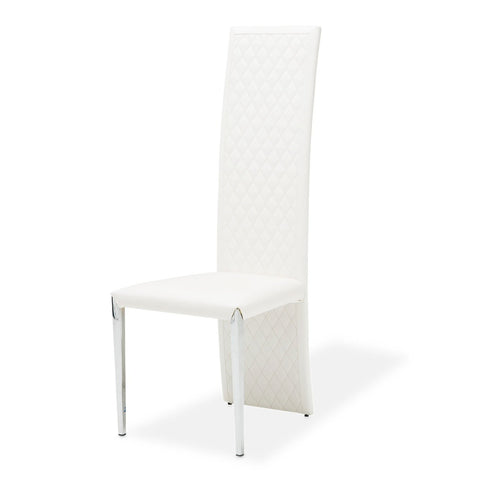 STATE ST. Tall Side Chair (Vinyl Back)