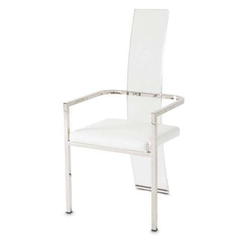 STATE ST. Arm Chair (Acrylic Back)