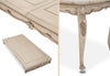 Lavelle Cottage Oval Dining Table - Blanc Finish by Aico