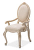 Lavelle Cottage Arm Chair (Set of 2) - Blanc Finish by Aico