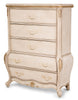 Lavelle Cottage 5 Drawer Chest - Blanc Finish by Aico