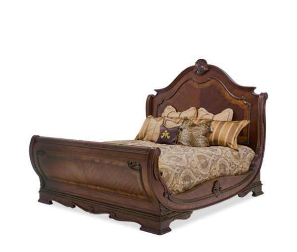 Bella Veneto Queen Sleigh Bed by Aico