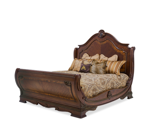 Bella Veneto King Sleigh Bed by Aico