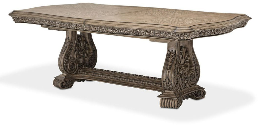 Aico Villa De Como Rectangular Dining Table In Heritage