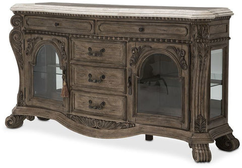 Aico Villa de Como Sideboard in Heritage Finish by Michael Amini
