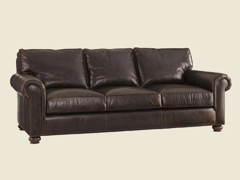 Flanders Leather Sofa by Lexington