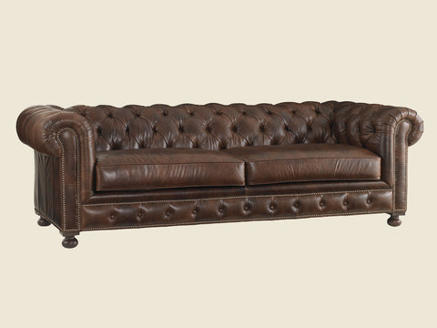 Belfort Leather Sofa by Lexington
