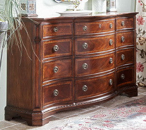 Antebellum Triple Dresser by Fine Furniture Design