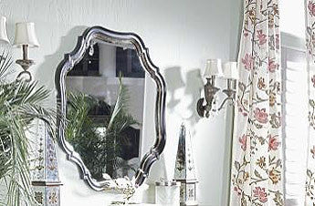 Antebellum Shaped Mirror by Fine Furniture Design