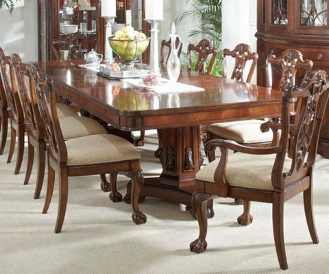 Antebellum Double Pedestal Dining Table by Fine Furniture Design