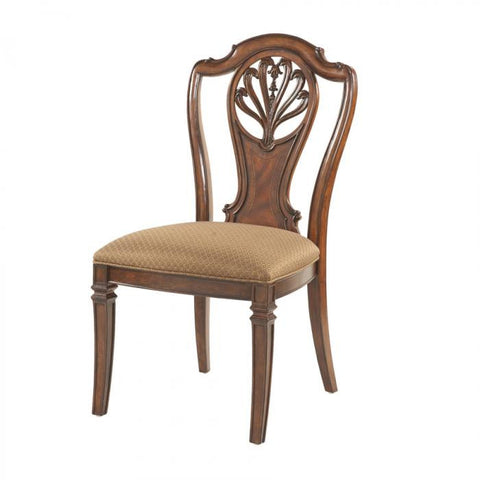 Antebellum Splat Back Side Chair (Set of 2) by Fine Furniture Design