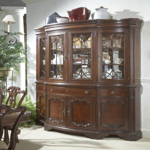 Antebellum China Hutch & Buffet by Fine Furniture Design