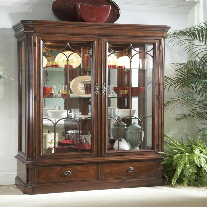Antebellum Display Cabinet by Fine Furniture Design
