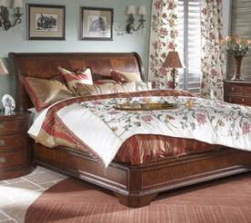 Antebellum King Sleigh Bed by Fine Furniture Design