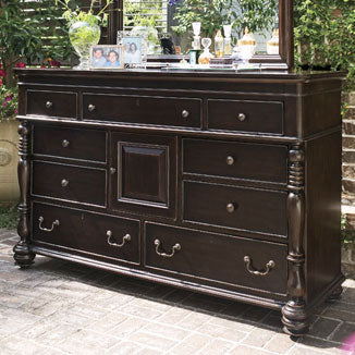 Paula Deen Door Dresser - Tobacco Finish