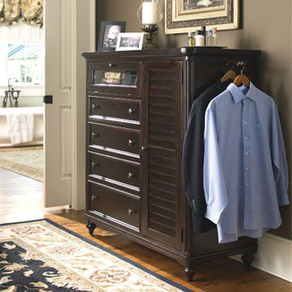 Paula Deen Door Chest - Tobacco Finish