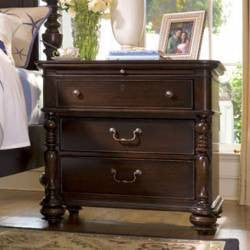 Paula Deen Drawer Nightstand - Tobacco Finish