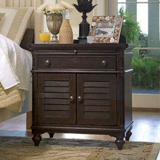 Paula Deen Door Nightstand - Tobacco Finish