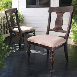 Paula's Side Chair (Set of 2) - Tobacco Finish