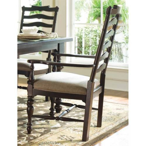 Paula Deen Mike's Arm Chair (Set of 2) - Tobacco Finish