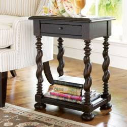 Paula Deen Sweet Tea Side Table - Tobacco Finish