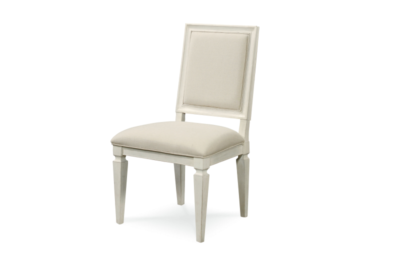 Summer Hill Woven Accent Side Chair (Set of 2) / Cotton Finish
