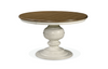 Summer Hill Round Dining Table  / Cotton Finish