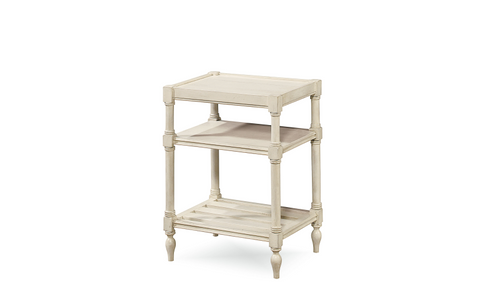 Summer Hill Chair Side Table / Cotton Finish