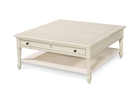 Summer Hill Lift Top Cocktail Table / Cotton Finish