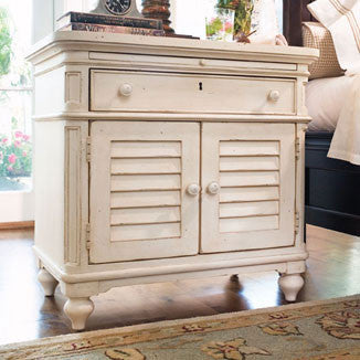 Paula Deen Door Nightstand - Linen Finish