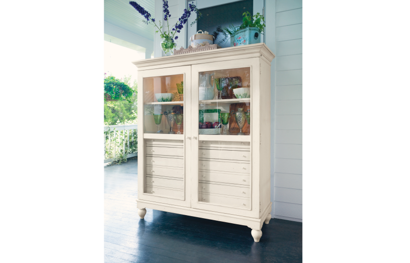 The Bag Lady's Cabinet - Linen Finish