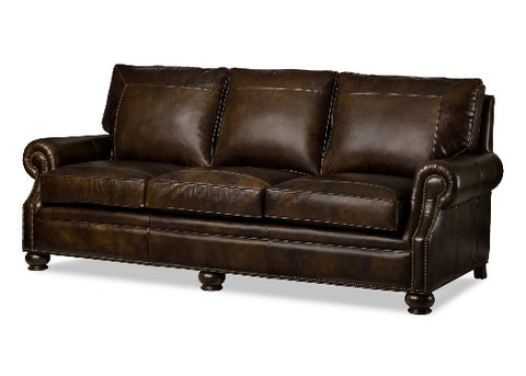 Ashland Leather Sofa by Randall Allan
