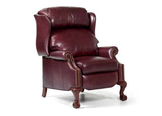 Copley Leather Recliner by Randall Allan