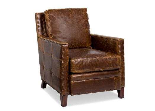 Superb Elkhorn Leather Chair By Randall Allan Cjindustries Chair Design For Home Cjindustriesco