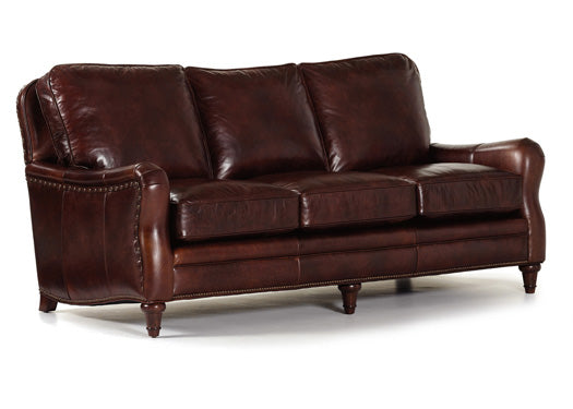 Finley Leather Sofa by Randall Allan