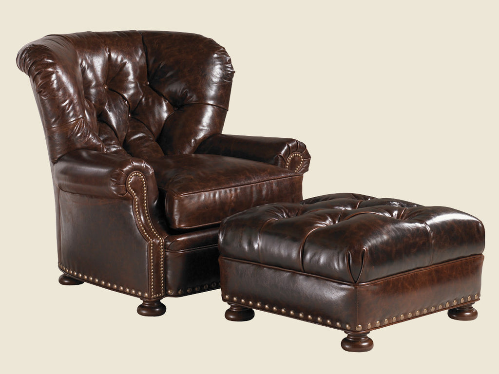 Elle Leather Chair by Lexington